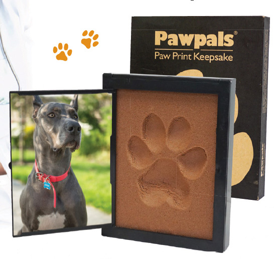 Pawpals® is Much Easier to Use than Traditional Clay Paw Print Kits